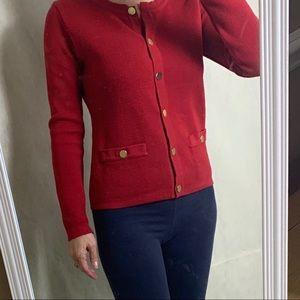 Audrey and Grace Petites cardigan NWOT Small